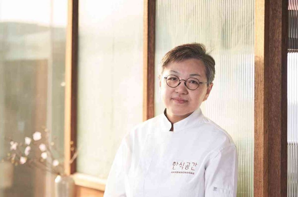 Korean chef Cho Hee-Sook has been selected Asia's Best Female Chef